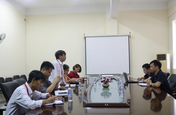 Họp triển khai công tác bố trí nhân sự MICHELLE Nhật Bản tại Đại học Công nghệ Vạn Xuân